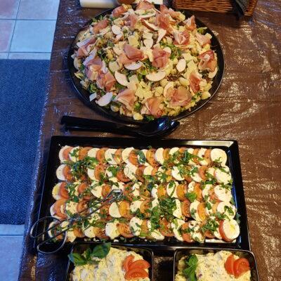 Diverse salades